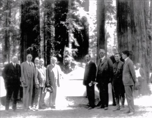 Park History Humboldt Redwoods Interpretive Association